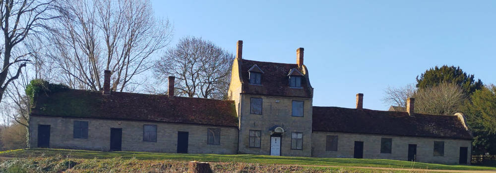 The Alms Houses & School at Great Linford