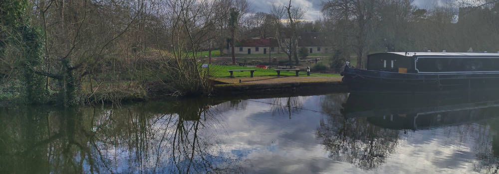 The Canal at Great Linford