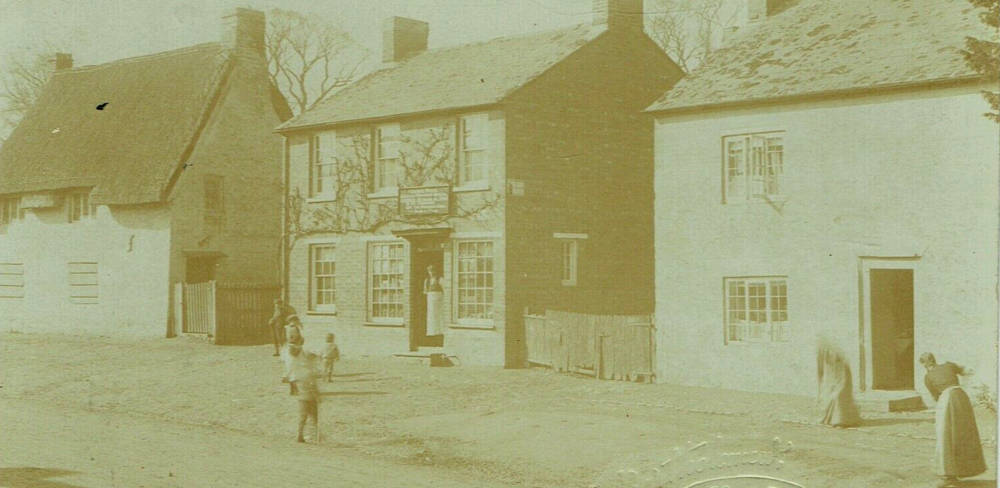The Old Post Office, circa 1900, at Great Linford