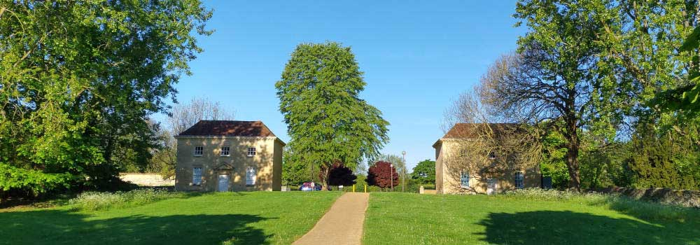 The North and South Pavilions at Great Linford