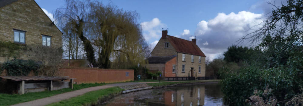 The old Wharf at Great Linford